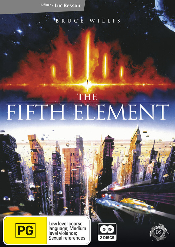 The Fifth Element (2 Disc Set) on DVD