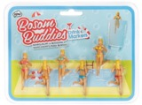 NPW: Bosom Buddies Drink Markers - 6 Pack