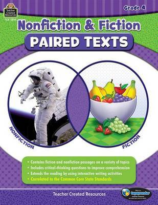 Nonfiction and Fiction Paired Texts Grade 4 by Susan Collins image