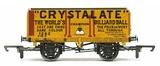 Hornby: 7 Plank Wagon 'Crystalate'