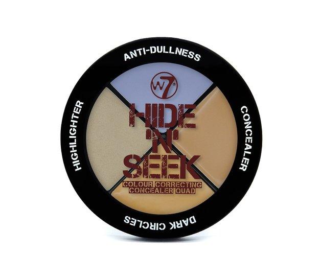 W7 Hide n Seek (Anti-Dullness Concealer Quad)
