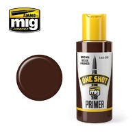 Ammo of Mig Jimenez One Shot Primer - Brown Oxide 60ml