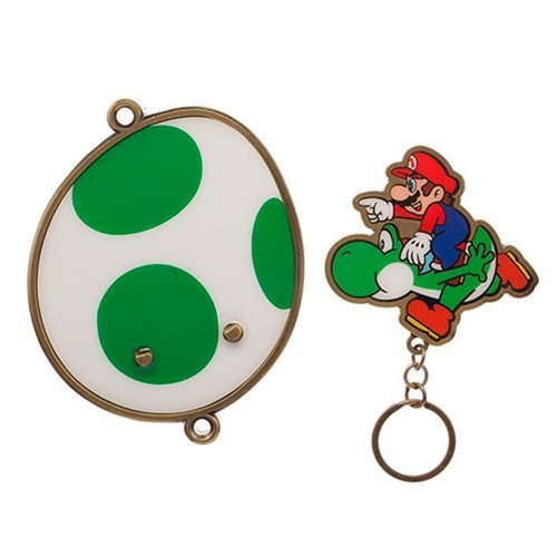 615d677fcce Super Mario Bros   Yoshi Magnetic Key Holder image
