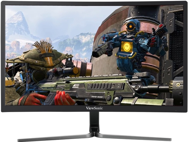 """24"""" Viewsonic FHD 1ms 144hz Curved FreeSync Gaming Monitor"""