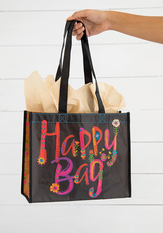 Natural Life: Happy Gift Bag - Black (Large)