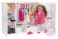 Our Generation - Wooden Wardrobe Playset image