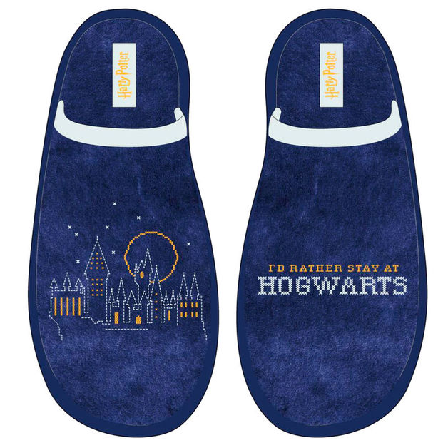 Harry Potter: Hogwarts - Adult Slippers (Size 37 Euro)