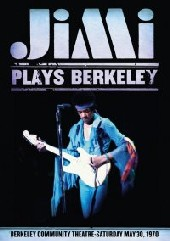 Jimi Hendrix - Jimi Plays Berkely on DVD