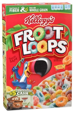 kellogg s cereal froot loops 345g at mighty ape nz