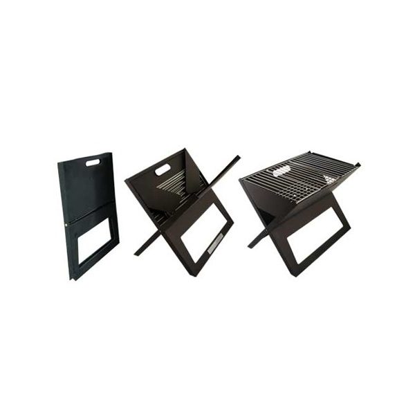 portable notebook bbq grill at mighty ape nz. Black Bedroom Furniture Sets. Home Design Ideas
