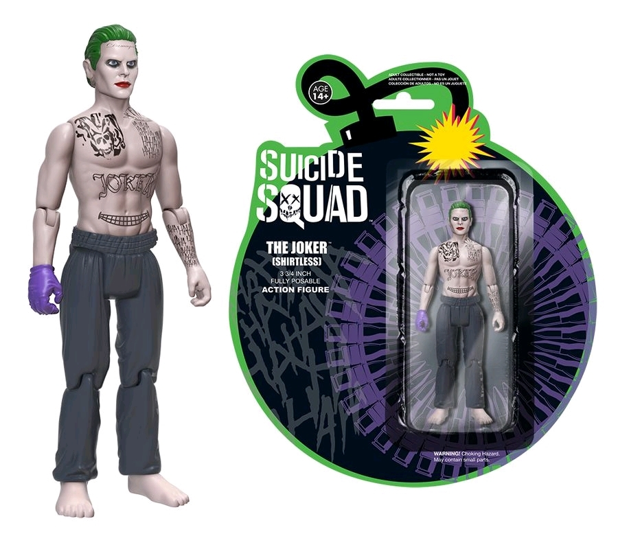 Suicide Squad - Shirtless Joker Action Figure image