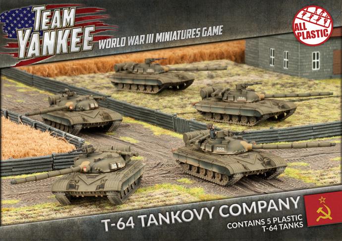 Team Yankee: T-64 Tank Company (Plastic) image