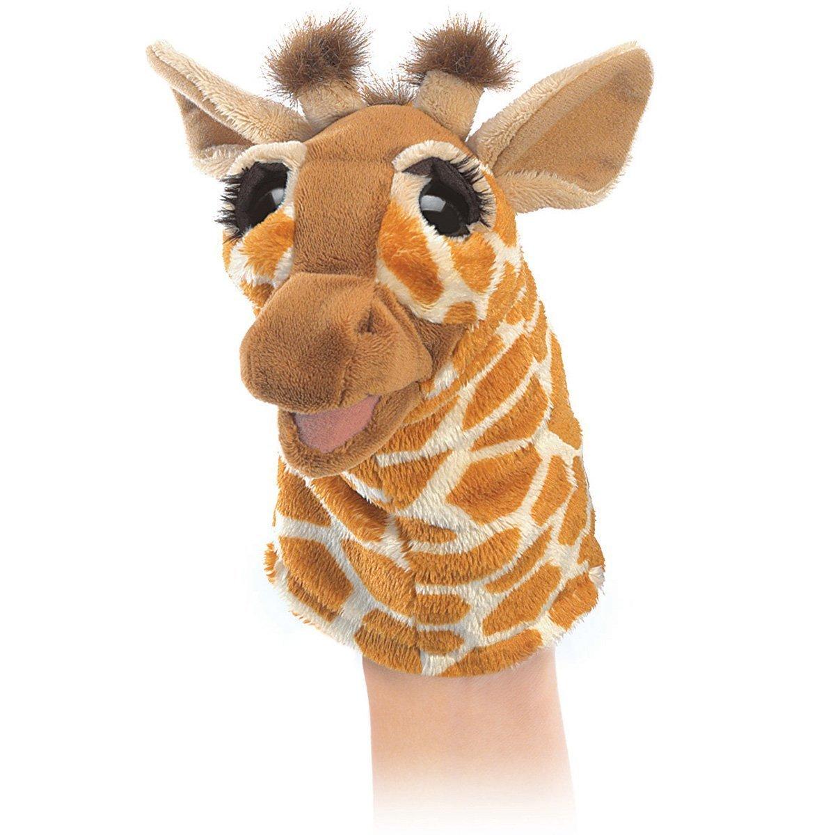 Folkmanis Hand Puppet - Little Giraffe image