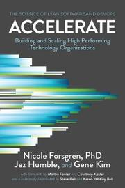 Accelerate by Nicole Forsgren Phd
