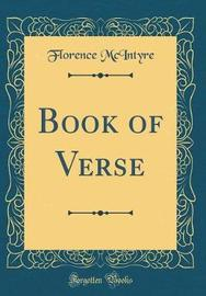 Book of Verse (Classic Reprint) by Florence McIntyre image