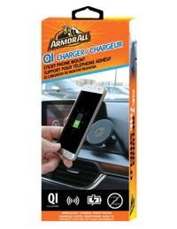 Armor All: QI Charger Sticky Phone Mount image
