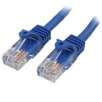 StarTech: Cat5e Patch Cable with Snagless RJ45 Connectors - Blue (1m) image