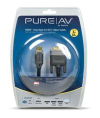 BELKIN PureAV HDMI - DVI-D Cable 1.8m (6ft) image