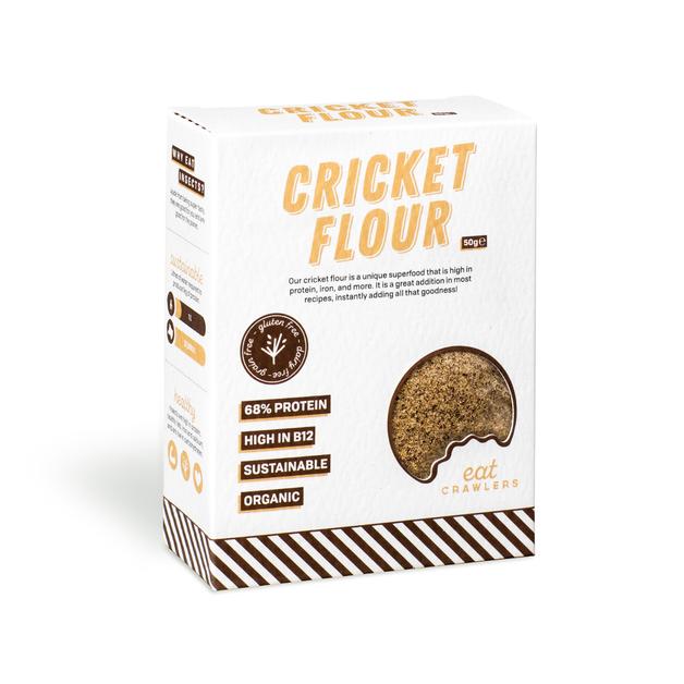 Eat Crawlers: Cricket Flour (50g)