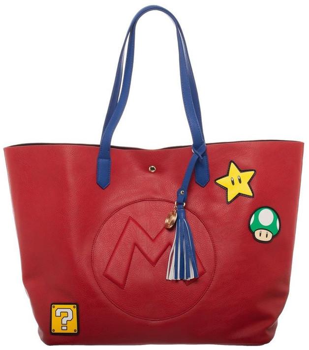 Super Mario Bros: Classic Tote Purse - (Red)