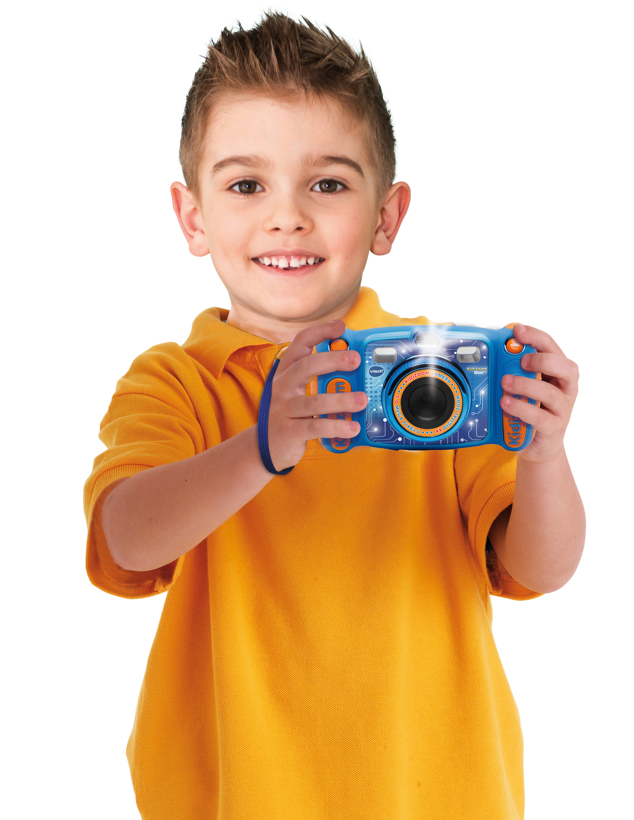 Vtech: Kidizoom Duo 5.0 Camera - (Blue) image