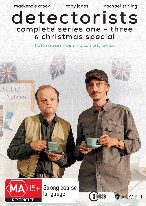 Detectorists Series 1-3 on DVD