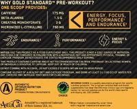 Optimum Nutrition Gold Standard Pre-Workout - Fruit Punch (300g/30 Servings)