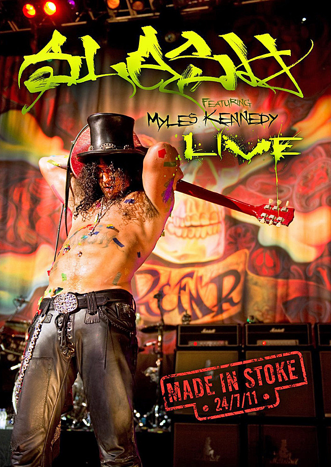 Slash - Made In Stoke 24/07/11 on  image