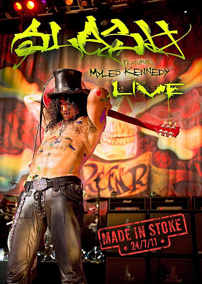Slash - Made In Stoke 24/07/11 on  image
