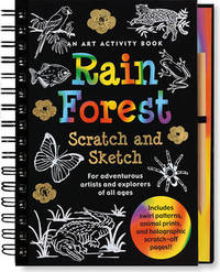 Sketch and Scratch Rain Forest Art Activity Book by Peter Pauper Press