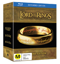 The Lord of the Rings Trilogy - Extended Edition on Blu-ray