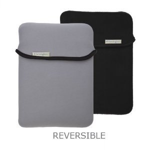 Reversible & Durable Neoprene Sleeve for the Apple iPad - Black/Gray