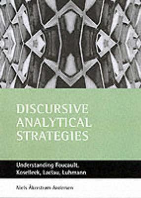 Discursive analytical strategies by Neils Akerstrom Andersen