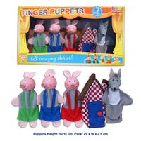 Fun Factory - Finger Puppets Pigs