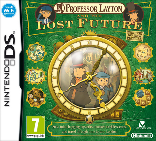 Professor Layton and the Unwound Future (aka The Lost Future) for Nintendo DS