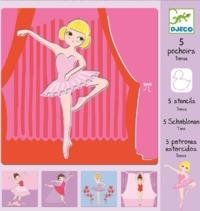 Djeco: Design - Dance Stencils