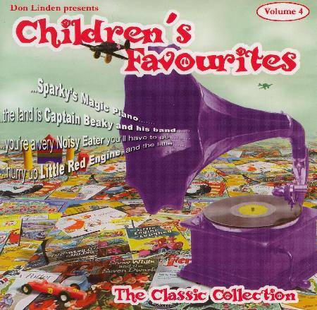 Don Linden Presents: Children's Favourites Volume 4 by Don Linden image