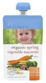 Bellamy's - Organic Spring Vegetable Macaroni (110gm)