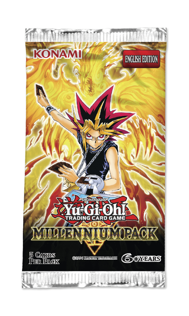 YU-GI-OH! Millennium Pack Single Booster (5 Cards) | at