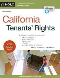 California Tenants' Rights by Janet Portman