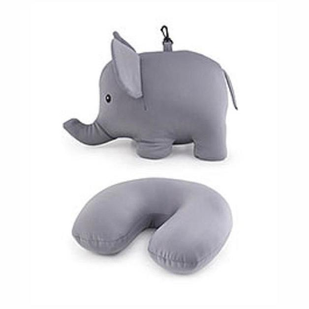 Zip & Flip Pillow - Elephant