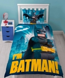 Lego Batman Hero Duvet Set - Single