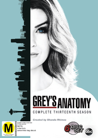 Grey's Anatomy - Season 13 on DVD