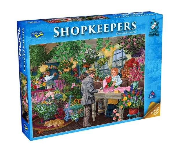 Holdson: Shopkeepers - Blooms & Bouquets (1000pc puzzle)