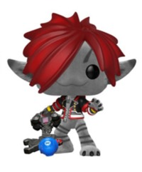 Kingdom Hearts III - Sora Monster's Inc. (Flocked) Pop! Vinyl Figure