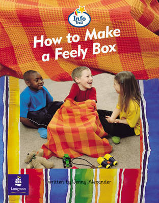 How to Make a Feely Box Info Trail Beginner Stage Non-Fiction Book 10 by Jenny Alexander image
