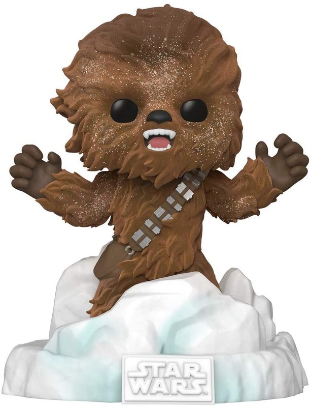 Star Wars: Chewbacca (Flocked) - Pop! Deluxe Diorama