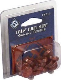 Fantasy Flight Supply: Red Gaming Tokens by Fantasy Flight Games