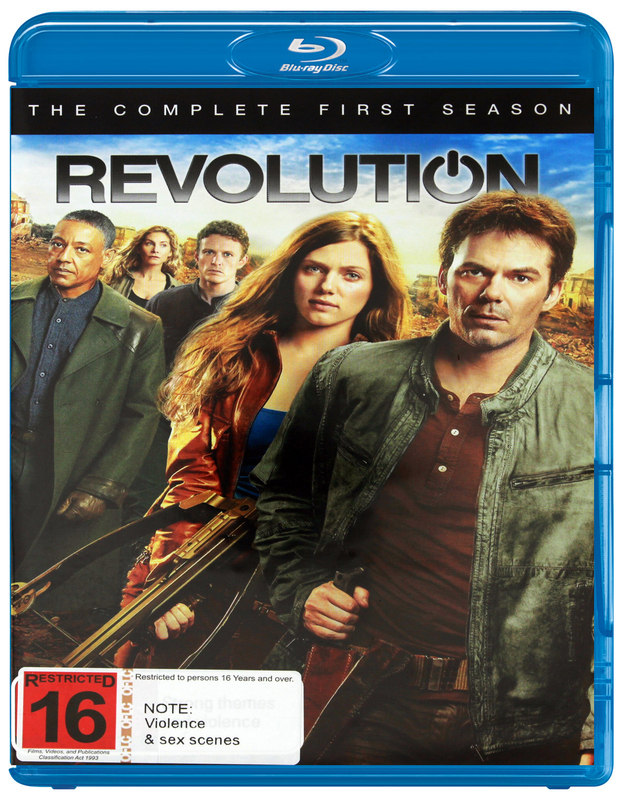 Revolution - The Complete First Season on Blu-ray
