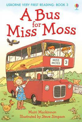 A Bus for Miss Moss by Mairi Mackinnon image